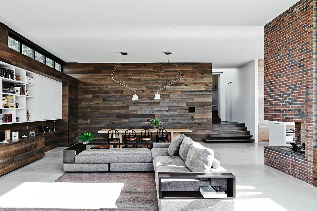 Interior design feature walls