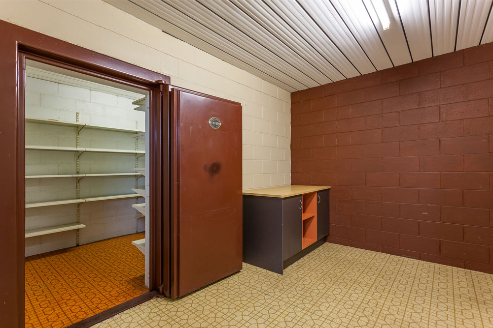 Building with its own vault for sale in central Toowoomba