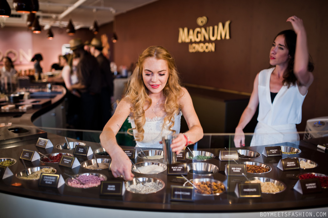 Why the use of pop up space is ripe for exploration for Magnum pop up shop