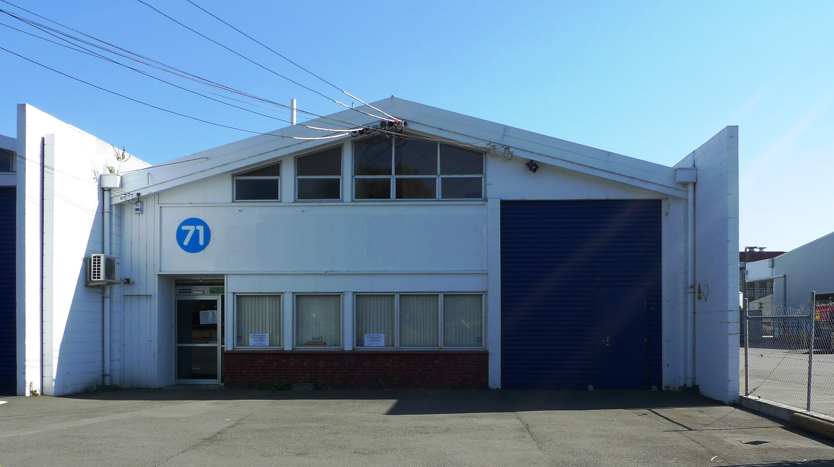 Inner City Christchurch Warehouse/Office for Sale