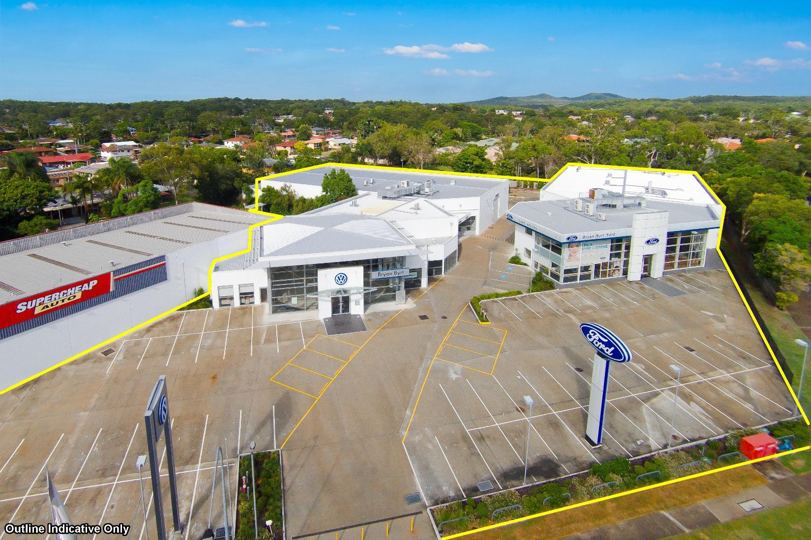 Capalaba Motor Dealership Site For Sale
