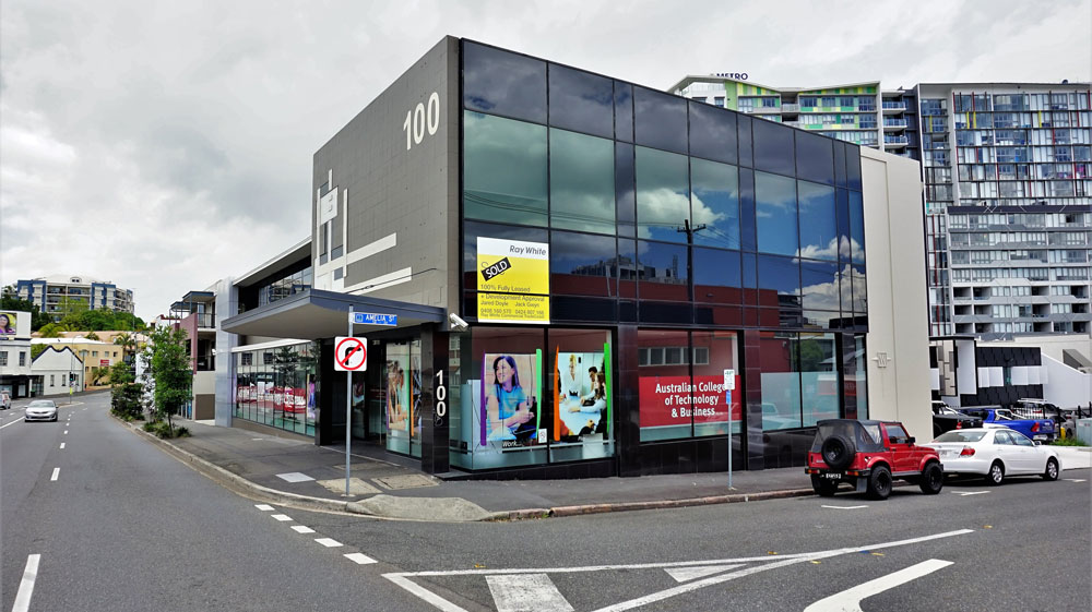 100 Brunswick Street, Fortitude Valley.