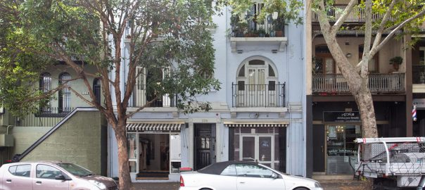1/336-338 Crown Street, Surry Hills NSW.