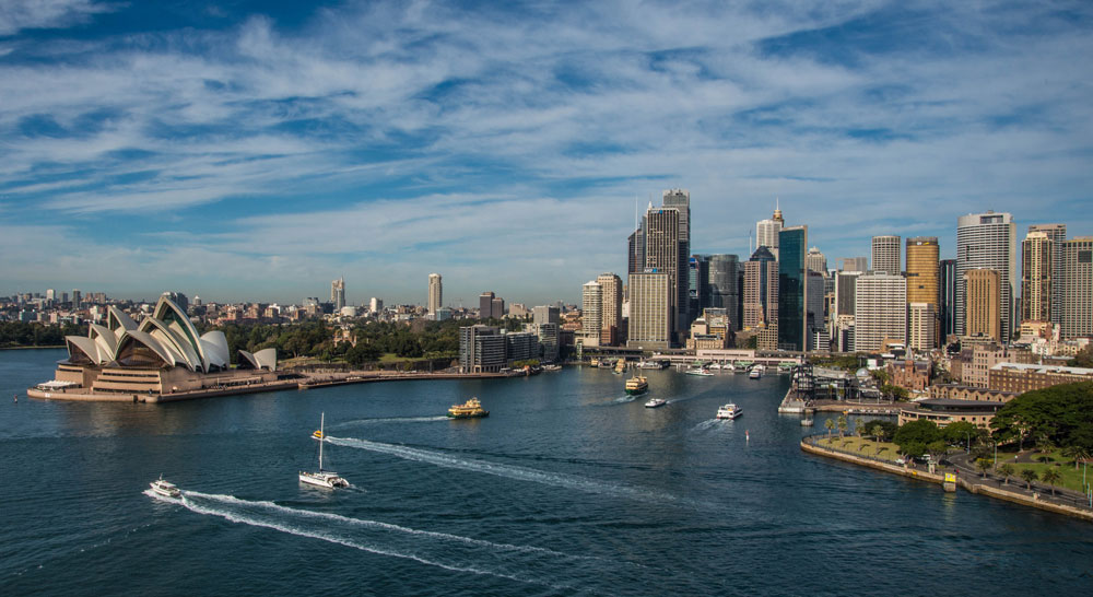 Sydney skyline looking over the harbour. Photo: Thinkstock