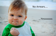 No Arrears