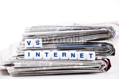 newspaper vs online