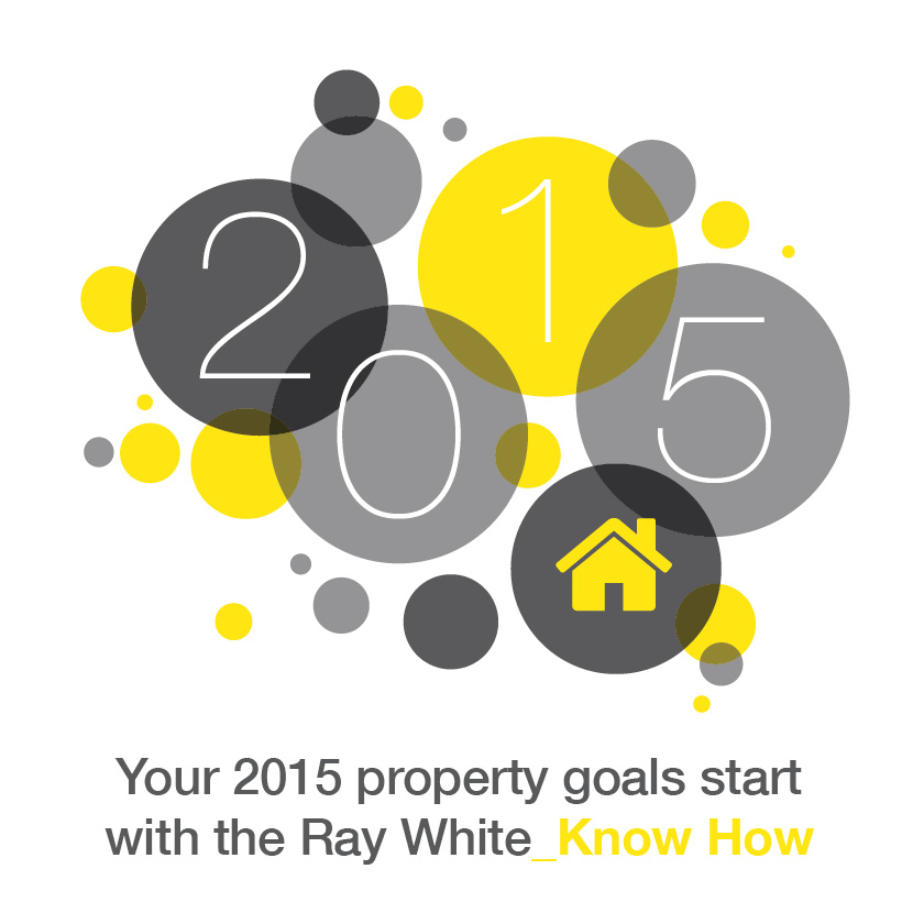 Facebook tile_Your 2015 property goals start with the Ray White Know How_New Year 2015