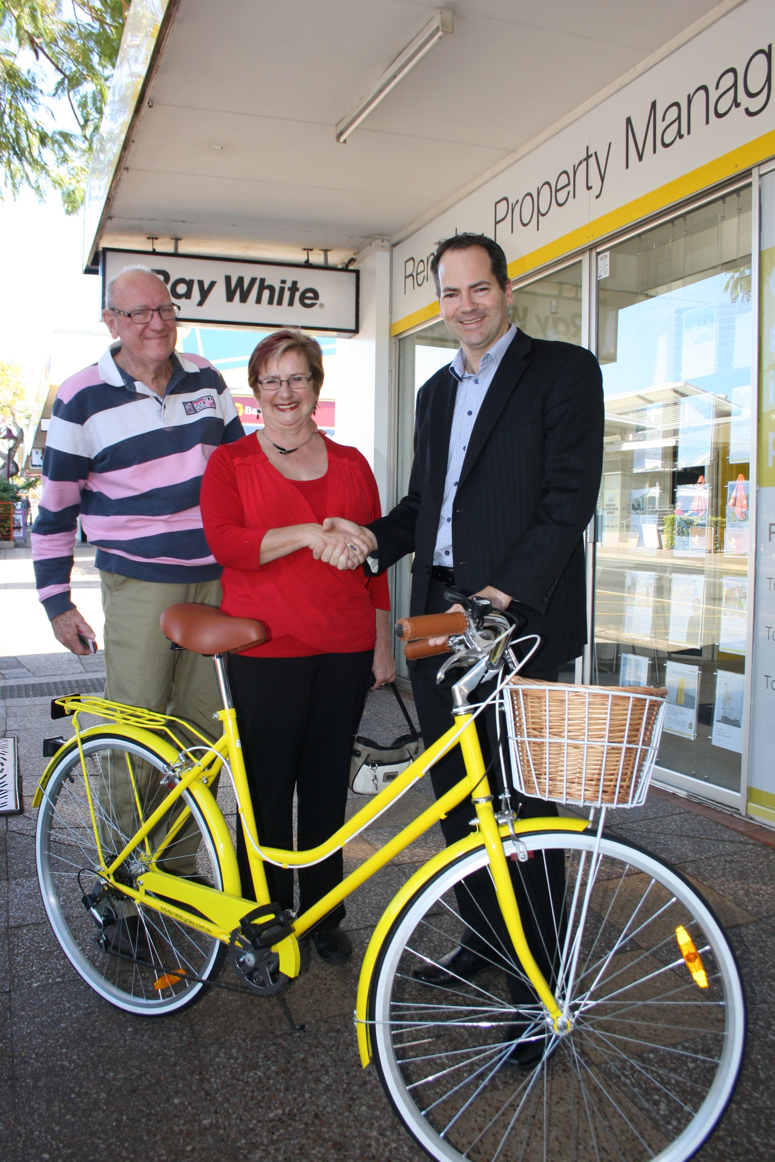 Yellow Bike Winner