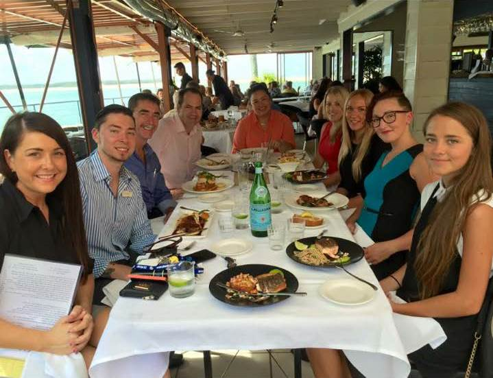 Property Management Lunch at the Boat Shed