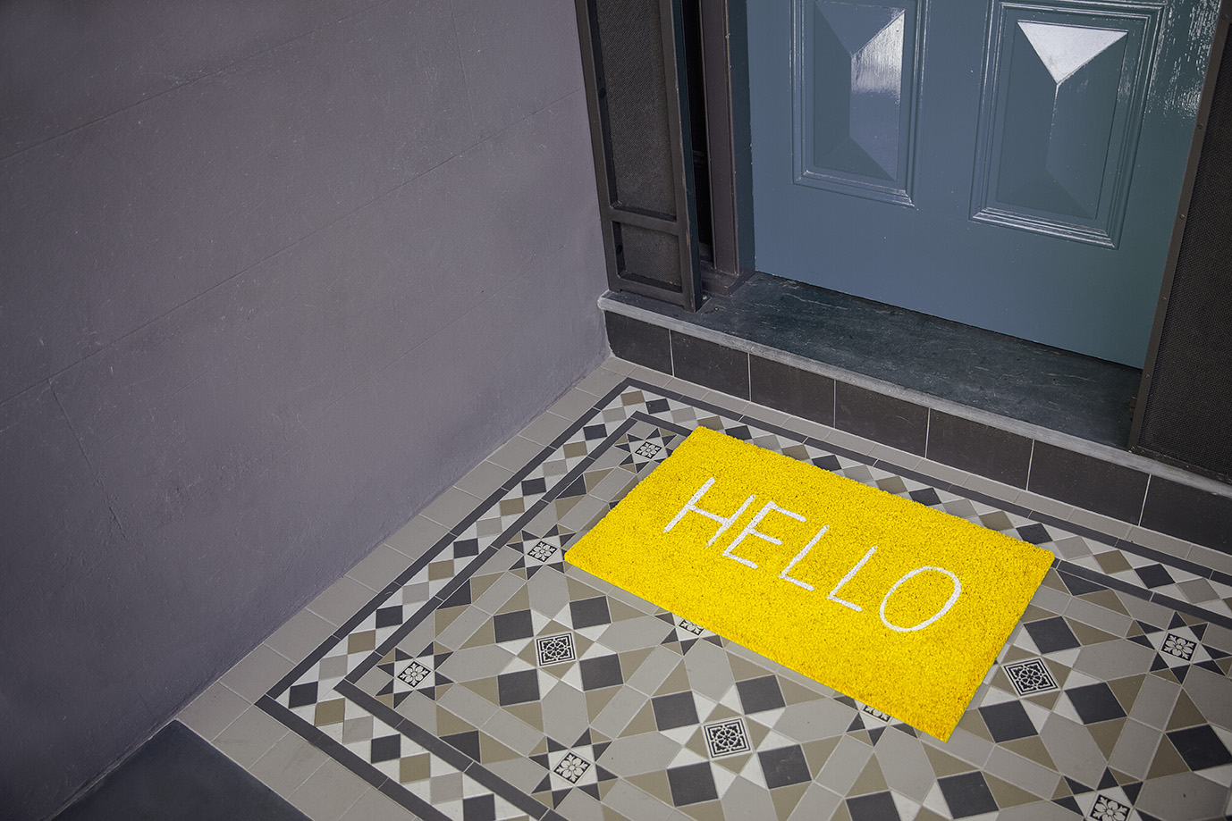 Doormat image (Hello) - Ray White_Know How - Landscape - Low res