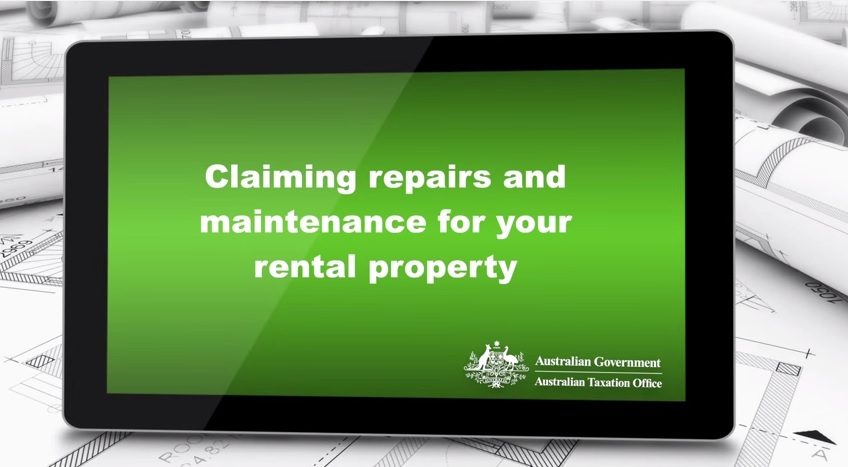 Claiming repairs and maintenance for your rental property