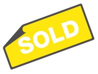 SOLD banner icon