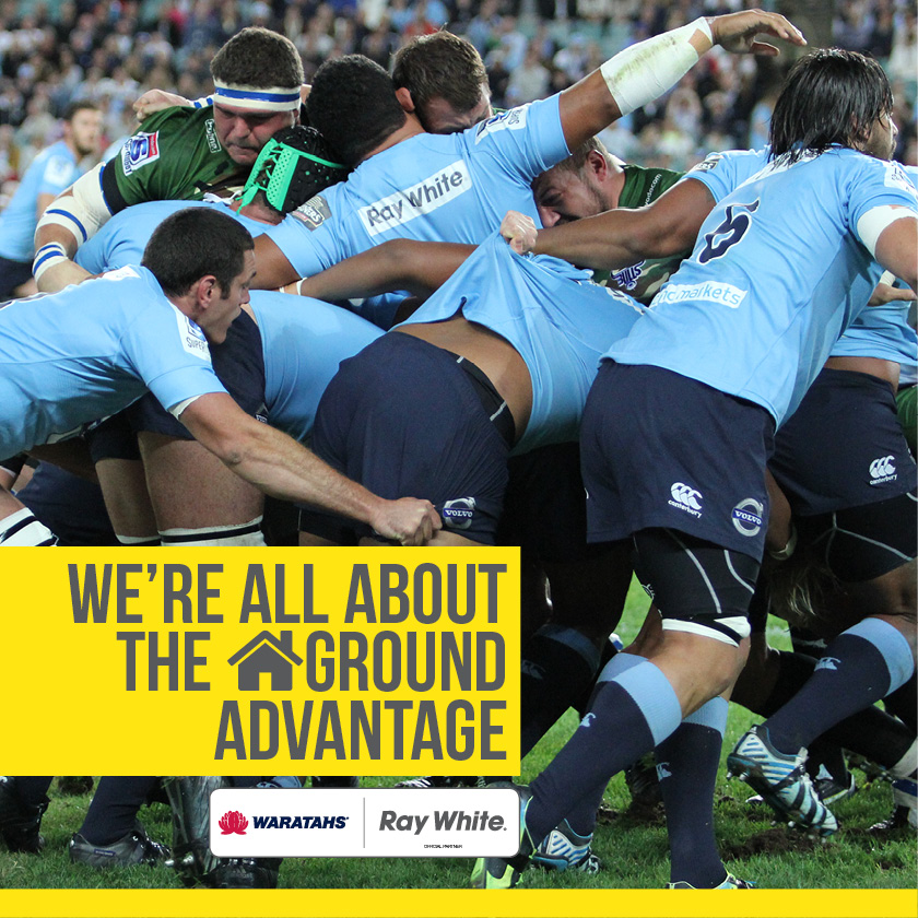 Facebook - homeground advantage -Waratahs sponsorship 2015 - Ray White