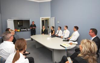Donna Parsons Victoria Police Visit Feb 2015