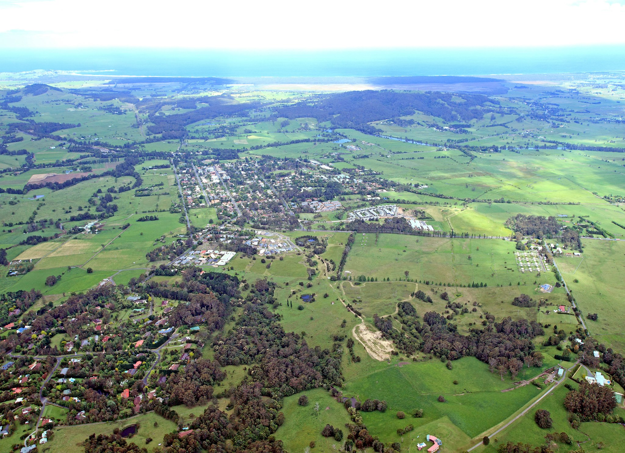 Berry Aerial View