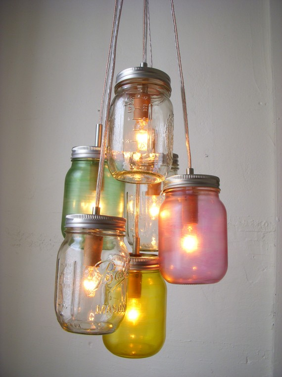 Pretty-Pastels-Mason-Jar-Chandelier-Swag-Light-Hanging