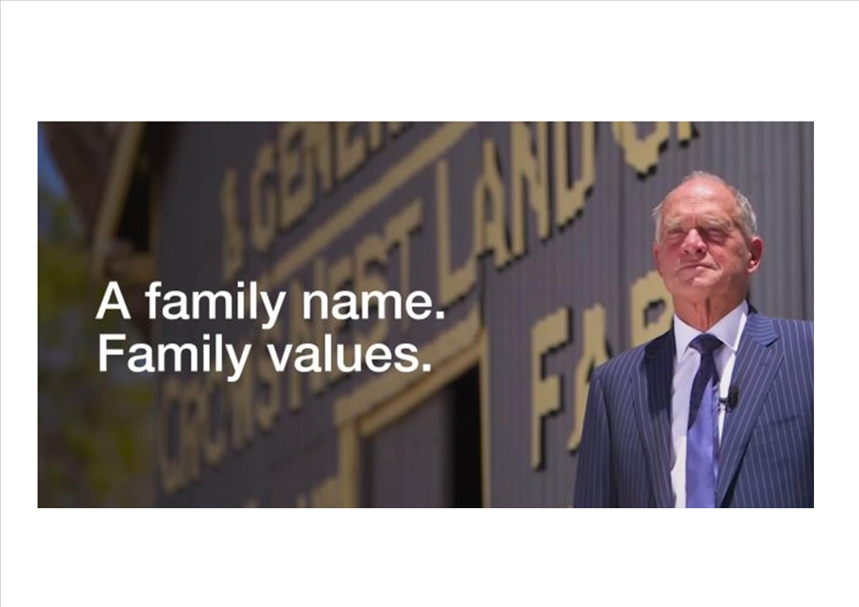 Ray White - Family Values