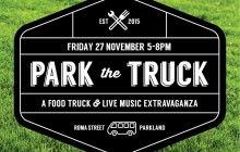 Park the truck