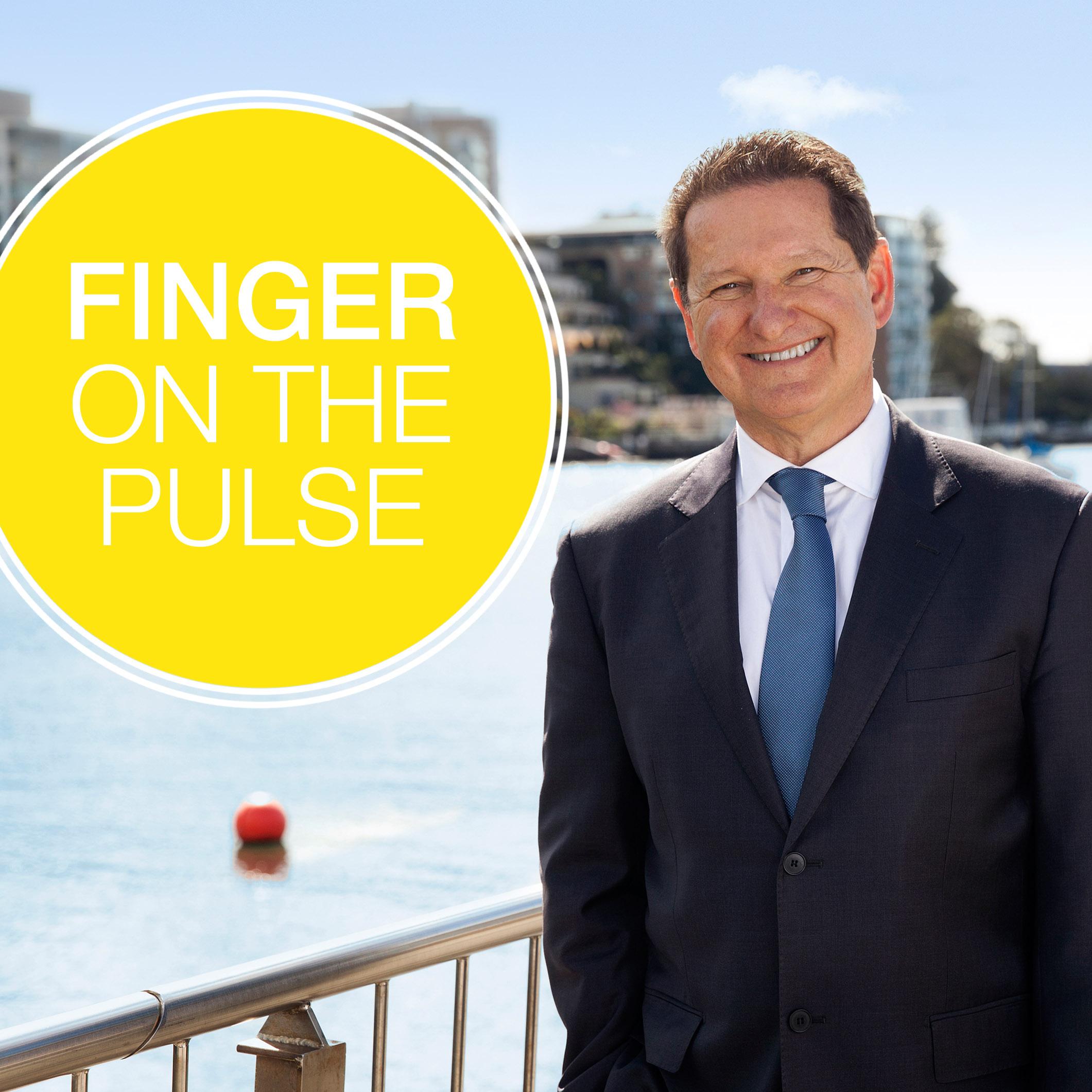 Finger on the pulse