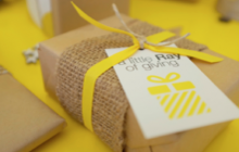 Ray White Double Bay's charitable initiation Ray White Double Bay Cares gives presents to the less fortunate