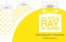 Website tile - A little Ray of giving 2015 - Ray White AUS