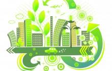Green city.