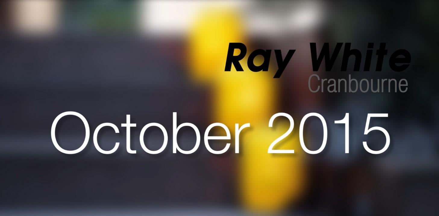 Local Market Update October 2015