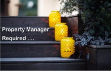Property Manager required
