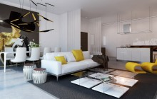 Play-with-changing-tones-of-yellow