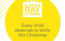 A little Ray of giving