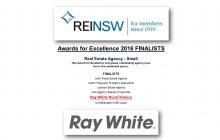 REINSW Award Finalist 2016