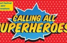 CALLING ALL SUPER HERO LOGO