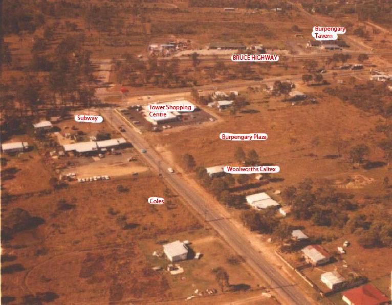Burpengary area in 1973