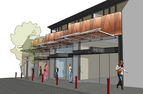 How it will look: An artist's impression of the new building