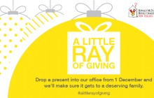 Website tile - A little Ray of giving 2015 - Ray White NZ_RMH