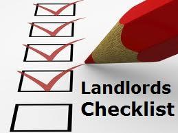 Landlords-checklist